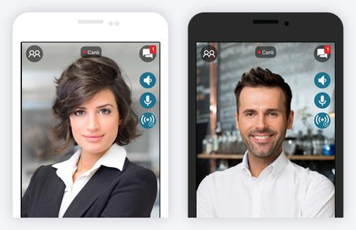Herhangi Bir Android Cihazdan Katılın!